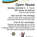 Open house this Saturday, Nov. 6th
