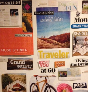 Create a 2016 Vision Board using Feng Shui