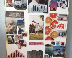 What is a vision board and how is it different than scheduling plans, setting goals or making resolutions?